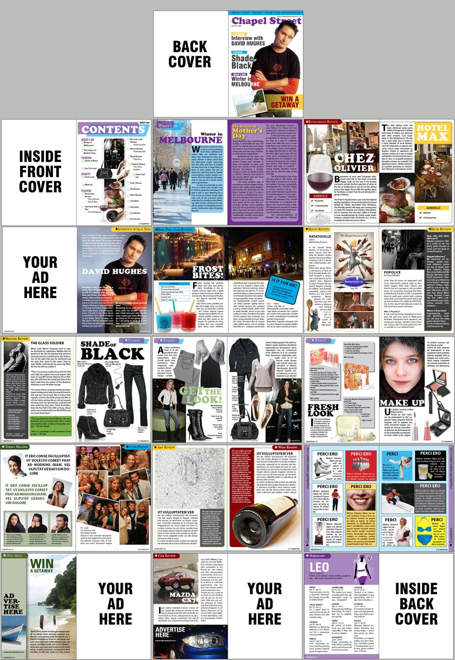 Magazine Design When it comes to your magazine design